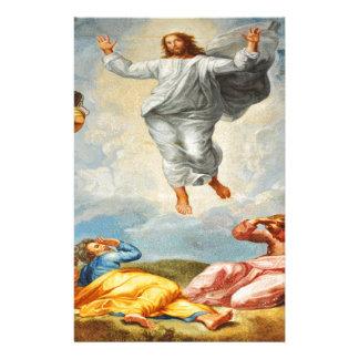 Resurrection scene in Vatican, Rome Stationery