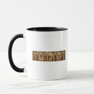 Retable depicting Crucifixion with Eight Mug