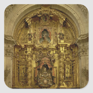 Retable of the Sacrament Chapel Square Sticker