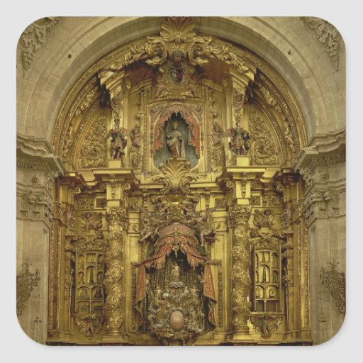 Retable of the Sacrament Chapel Stickers