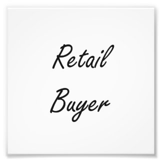 Retail Buyer Artistic Job Design Art Photo