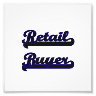 Retail Buyer Classic Job Design Photo Art