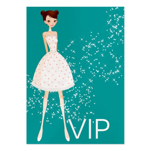 Retail Fashion / Sewing / Seamstress/ VIP Card - S Business Cards