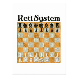 Reti System Postcard