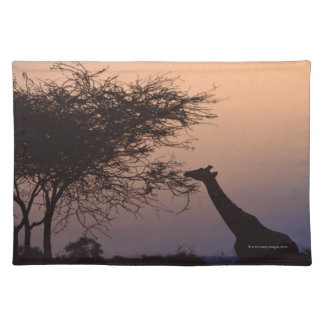 Reticulated Giraffe 2 Placemats