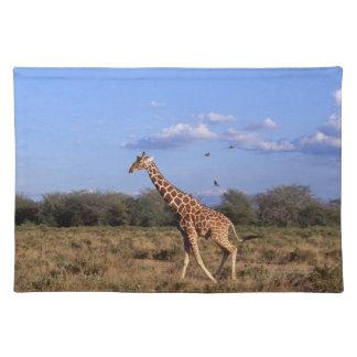 Reticulated Giraffe Place Mat