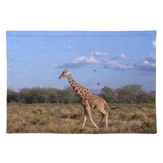 Reticulated Giraffe Placemat