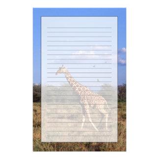 Reticulated Giraffe Stationery