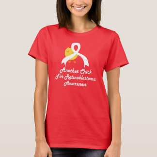 Retinoblastoma Awareness Chick Womens T-shirt