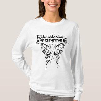 Retinoblastoma Awareness Tribal Butterfly T-Shirt