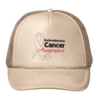 Retinoblastoma Cancer Awareness Ribbon Trucker Hats