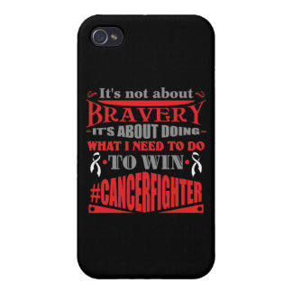 Retinoblastoma Cancer Not About Bravery iPhone 4 Covers