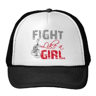 Retinoblastoma Cancer Ribbon Gloves Fight Like a G Cap