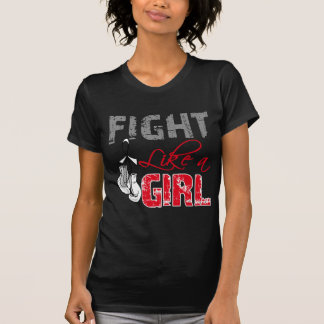 Retinoblastoma Cancer Ribbon Gloves Fight Like a G T Shirts