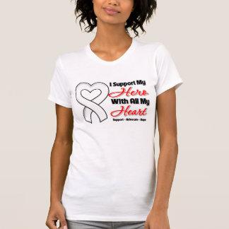 Retinoblastoma I Support My Hero With All My Heart T Shirts