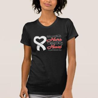 Retinoblastoma I Support My Hero With All My Heart Tee Shirt