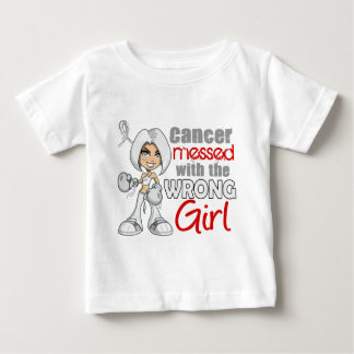 Retinoblastoma Messed With Wrong Girl.png Baby T-Shirt