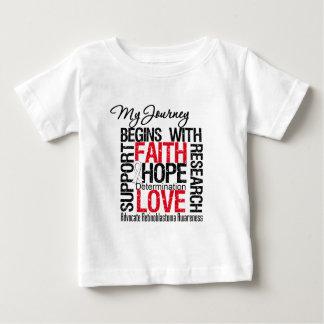 Retinoblastoma My Journey Begins With Faith Baby T-Shirt