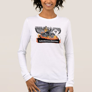 Retinoblastoma Ride For a Cure Long Sleeve T-Shirt