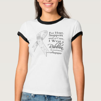 Retinoblastoma Support Hope Awareness Tee Shirt