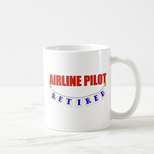 RETIRED AIRLINE PILOT MUG