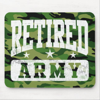 Retired Army Mouse Pad