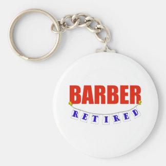 RETIRED BARBER KEY RING