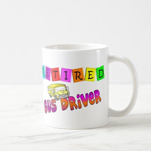 Retired Bus Driver Gifts Mug