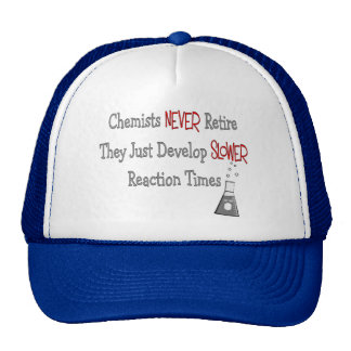 Retired Chemist Gifts Cap