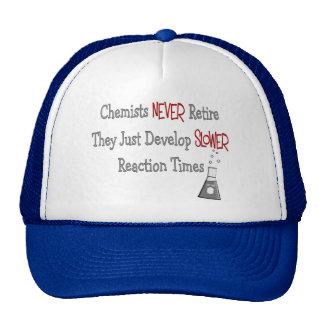 Retired Chemist Gifts Trucker Hat