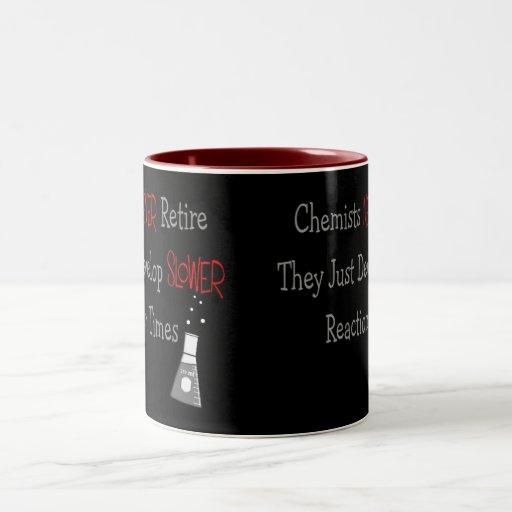 Retired Chemist Gifts Mugs