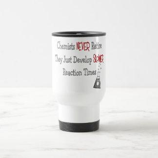 Retired Chemist Gifts Travel Mug