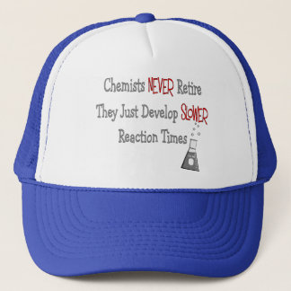 Retired Chemist Gifts Trucker Hat
