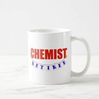 RETIRED CHEMIST MUG