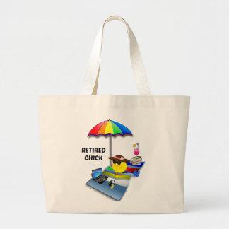 Retired Chick 2015 Jumbo Tote Bag