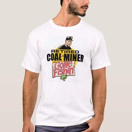 RETIRED COAL MINER T-Shirt