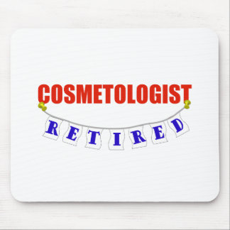 RETIRED COSMETOLOGIST MOUSE PAD