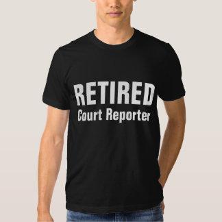 Retired Court Reporter Tee Shirts