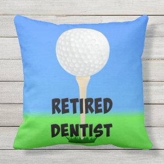 Retired Dentist - Golf Design Cushion