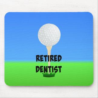Retired Dentist - Golf Design Mouse Mat