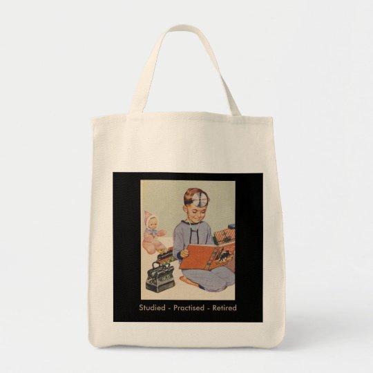 Retired Doctor - Fun Retro Tote Bag