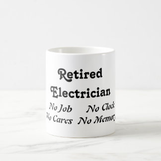 Retired Electrician Coffee Mug