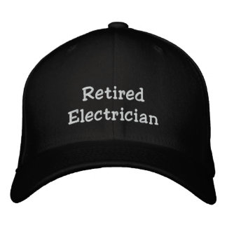 Retired Electrician Hat