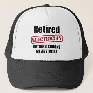 Retired Electrician (UK spell) Trucker Hat