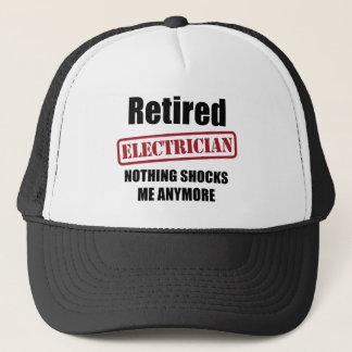 Retired Electrician (US spell) Trucker Hat