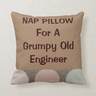 "Retired Engineer ""Nap Pillow"""