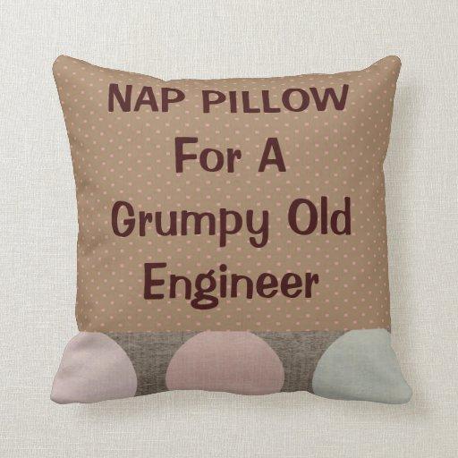 "Retired Engineer ""Nap Pillow"""