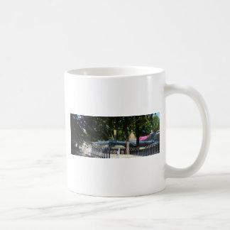 Retired fighter coffee mug