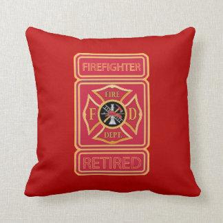 Retired Firefighter Cushion