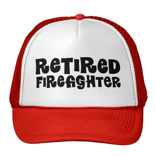 Retired Firefighter Gift Cap